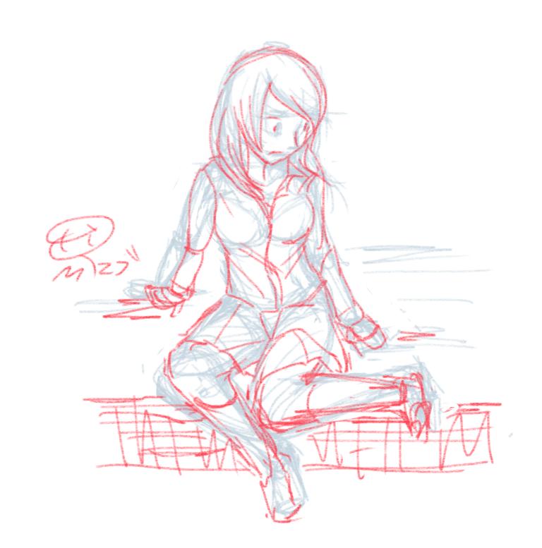 お絵描き練習(140626)