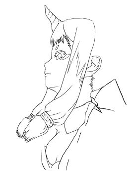 お絵描き練習(141224)
