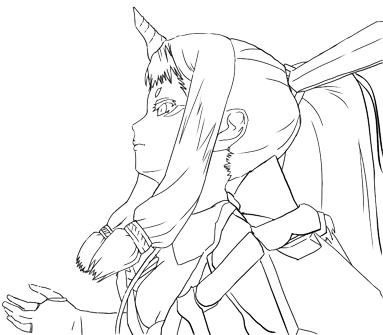 お絵描き練習(141225)