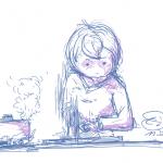 絵日記:料理をした