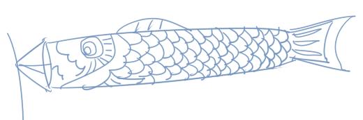 お絵描き練習(140501)